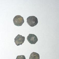 Monedas medievales: TESORILLO MEDIEVAL MONEDA DINERO ARAGONÉS. Lote 194007362