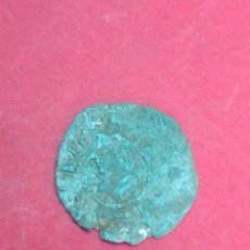 Monedas medievales: JUANA Y CARLOS. DINERO DE BARCELONA. VELLÓN.. Lote 194182351