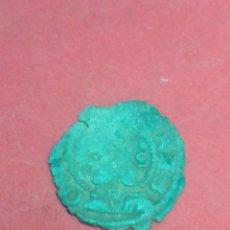 Monedas medievales: JUANA Y CARLOS, DINERO DE ARAGÓN. VELLÓN.. Lote 194182491