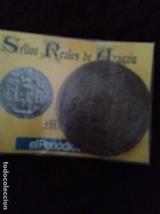 SELLOS REALES DE ARAGÓN / MARTÍN (AÑO 1399). REPRODUCCIÓN. (Numismática - Medievales - Cataluña y Aragón)