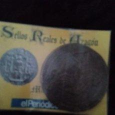 Monedas medievales: SELLOS REALES DE ARAGÓN / MARTÍN (AÑO 1399). REPRODUCCIÓN.. Lote 194945638