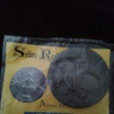 Monedas medievales: SELLOS REALES DE ARAGON. ALFONSO II (1193) REPRODUCCION.. Lote 194946253