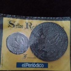 Monedas medievales: SELLOS REALES DE ARAGON. FERNANDO II (1496 - 1505). REPRODUCCION.. Lote 194947012