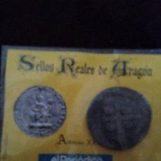 Monedas medievales: SELLOS REALES DE ARAGON. ALFONSO III (1291). REPRODUCCION.. Lote 194947470