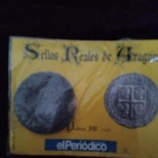 Monedas medievales: SELLOS REALES DE ARAGON. PEDRO IV(1339). REPRODUCCION.. Lote 194947757