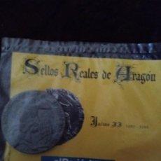 Monedas medievales: SELLOS REALES DE ARAGON. JAIME II (1292 - 1294). REPRODUCCION.. Lote 194948060