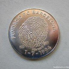 Monedas medievales: F.C. BARCELONA. AÑO 1996 . MEDALLA DE PLATA DE MUY BUENA LEY . 800 MM.. Lote 194964756