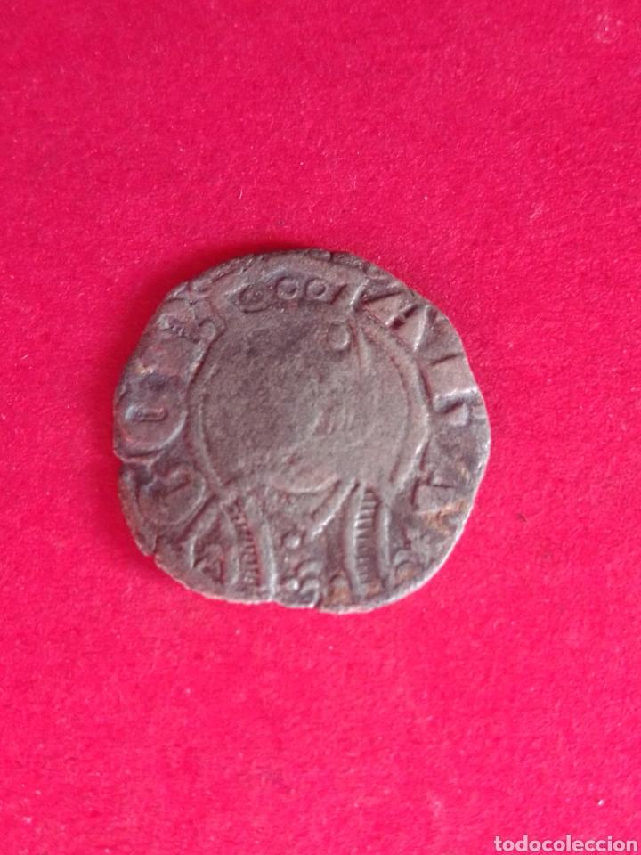 JAIME II. DINERO DE VELLÓN. ARAGÓN. (Numismática - Medievales - Cataluña y Aragón)