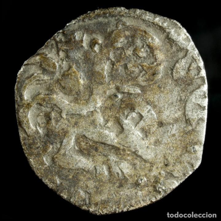 ALFONSO IX, DINERO CECA E VERTICAL (BAU 225.1), 15 MM / 0.68 GR. (Numismática - Medievales - Cataluña y Aragón)