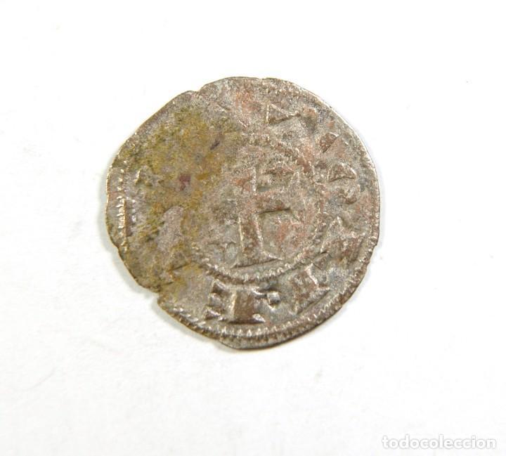 Monedas medievales: LOTE DE DOS MONEDAS DE ALFONSO I EL BATALLADOR - Foto 3 - 195157373
