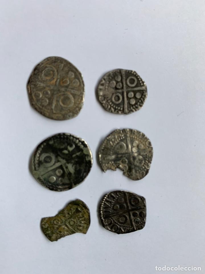 Monedas medievales: Lote 6 Croat Barcelona diferente a catalogar raros - Foto 3 - 195464516