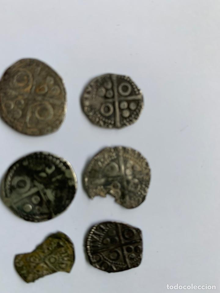 Monedas medievales: Lote 6 Croat Barcelona diferente a catalogar raros - Foto 4 - 195464516