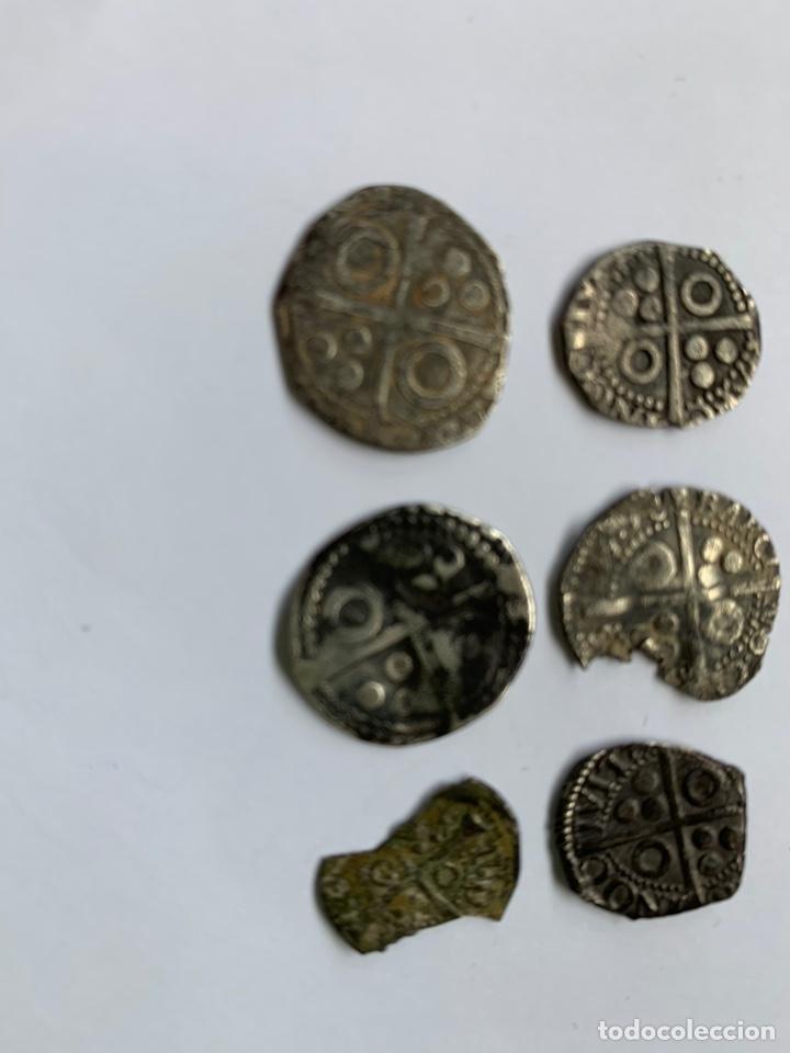 Monedas medievales: Lote 6 Croat Barcelona diferente a catalogar raros - Foto 5 - 195464516