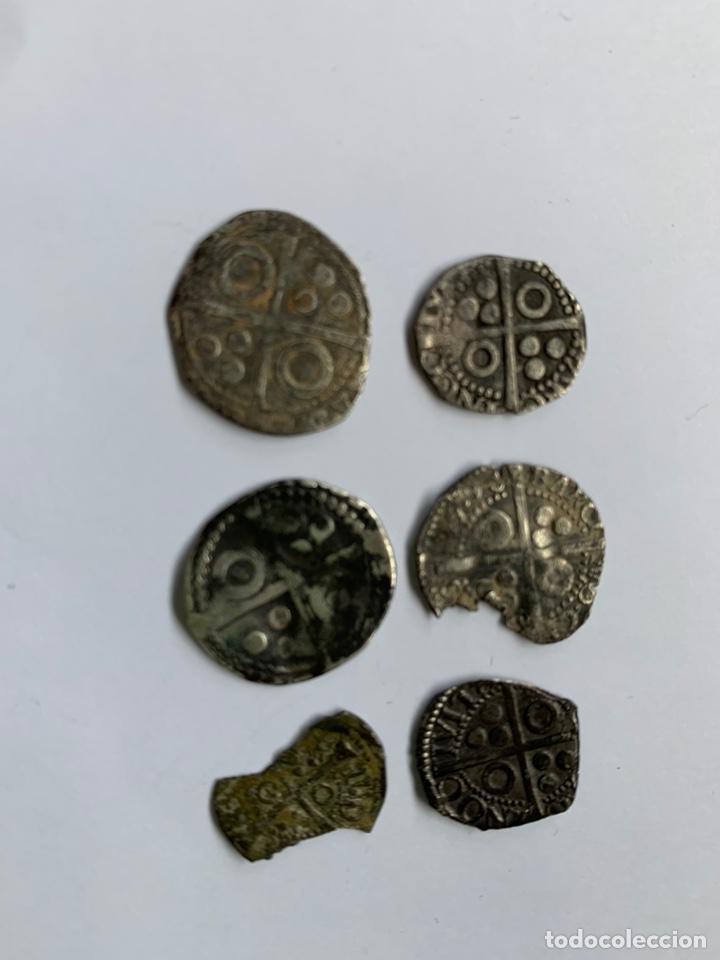Monedas medievales: Lote 6 Croat Barcelona diferente a catalogar raros - Foto 6 - 195464516