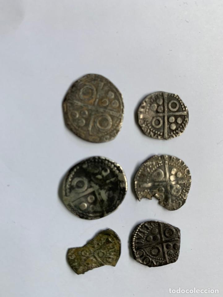 Monedas medievales: Lote 6 Croat Barcelona diferente a catalogar raros - Foto 8 - 195464516
