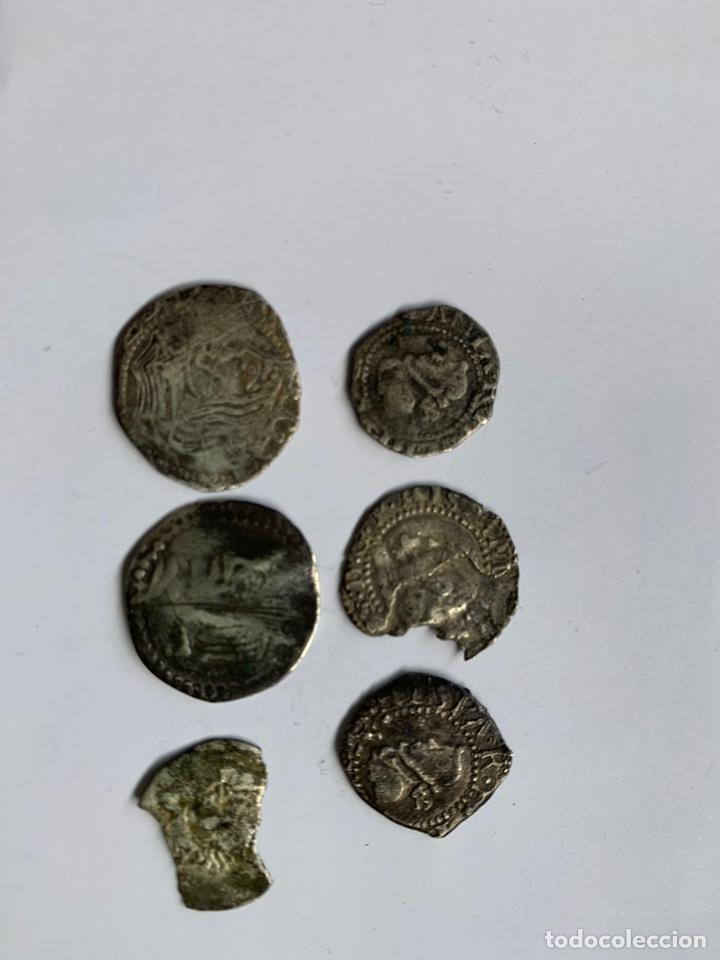 Monedas medievales: Lote 6 Croat Barcelona diferente a catalogar raros - Foto 9 - 195464516