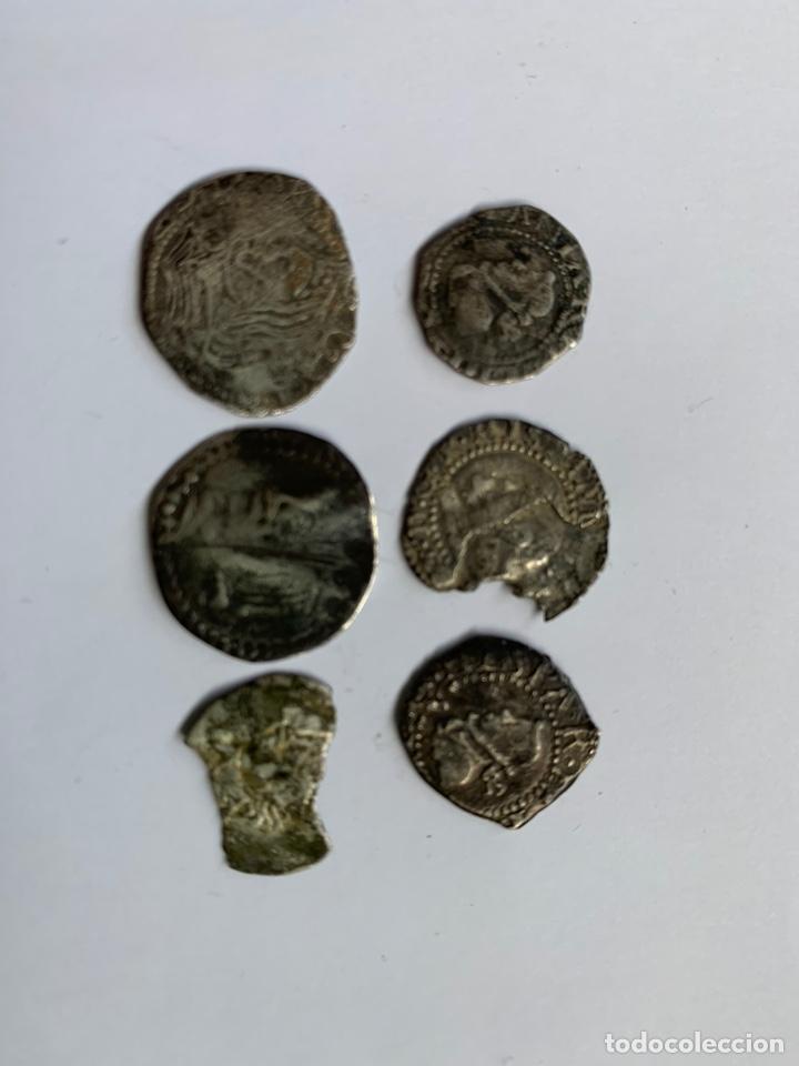 Monedas medievales: Lote 6 Croat Barcelona diferente a catalogar raros - Foto 11 - 195464516