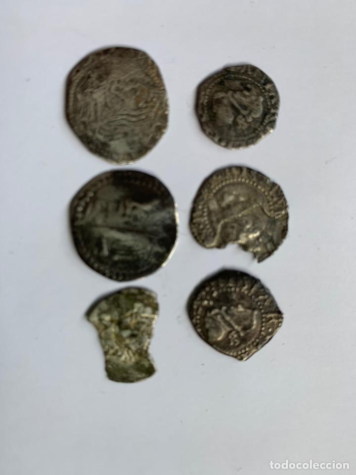 Monedas medievales: Lote 6 Croat Barcelona diferente a catalogar raros - Foto 12 - 195464516