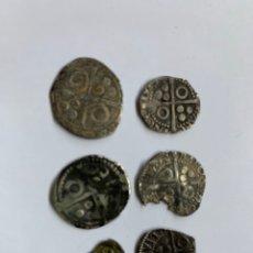 Monedas medievales: LOTE 6 CROAT BARCELONA DIFERENTE A CATALOGAR RAROS. Lote 195464516