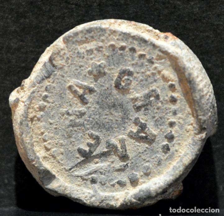 Monedas medievales: PLOMO MARCHAMO LLEIDA GRAÑENA DE LAS GARRIGAS LERIDA 19MM - Foto 3 - 196270002