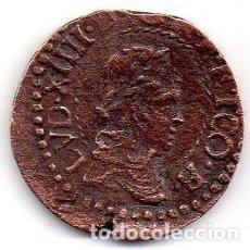 Monedas medievales: SEIZAIN. OCUPACION FRANCESA LOUIS XIV 1643-59. BARCELONA 1647. Lote 196943240