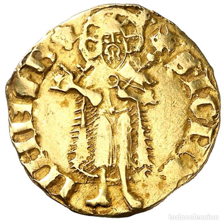 FLORÍN DE PERE III (1336-1387) - BARCELONA - 3,45G AU - MBC - SE ADJUNTA CERTIFICADO DE AUTENTICIDAD (Numismática - Medievales - Cataluña y Aragón)
