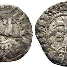 Monedas medievales: PEDRO IV. ARAGÓN. DINERO. 1325-87. CY1794 (30 €). MBC+.. Lote 199061555