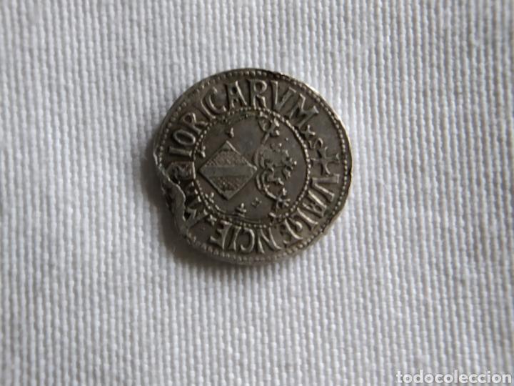 Monedas medievales: MONEDA DE PLATA DE CARLOS I MAIORICA VALENCIE - Foto 2 - 203182720