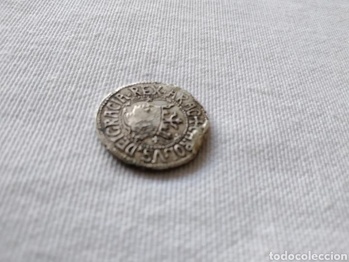 Monedas medievales: MONEDA DE PLATA DE CARLOS I MAIORICA VALENCIE - Foto 3 - 203182720