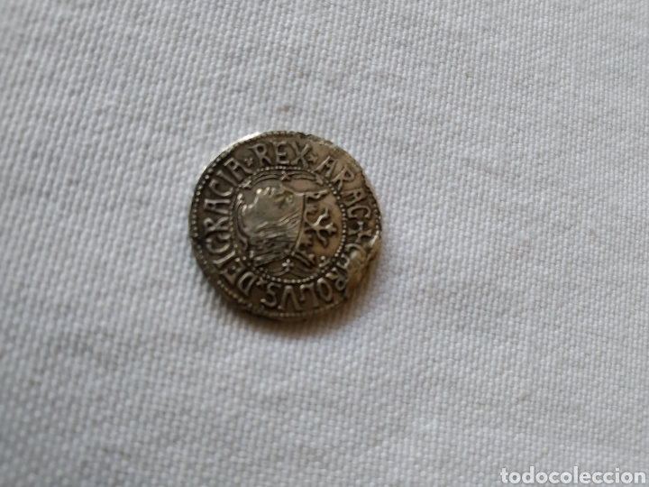 Monedas medievales: MONEDA DE PLATA DE CARLOS I MAIORICA VALENCIE - Foto 6 - 203182720