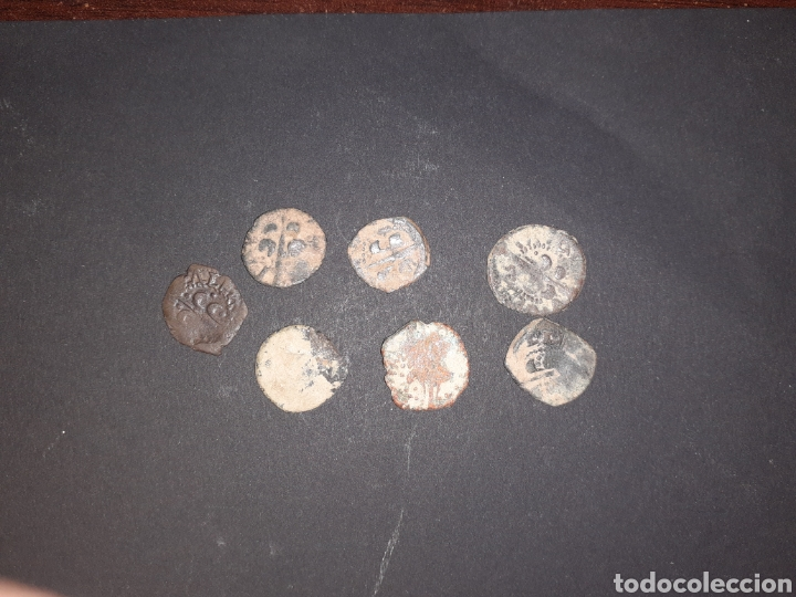 LOTE DE 7 DINERILLOS DE VALENCIA (Numismática - Medievales - Cataluña y Aragón)