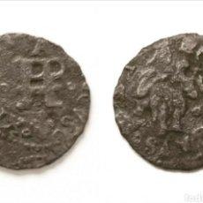 Monedas medievales: DINER PERPINYA LLUIS XIV. 1644.. Lote 206488287