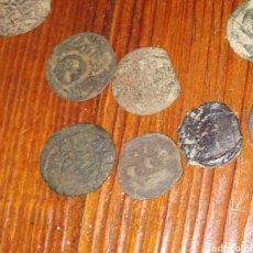Monedas medievales: (5 MONEDAS) ARDITES DE FELIPE III BARCELONA. Lote 209788980