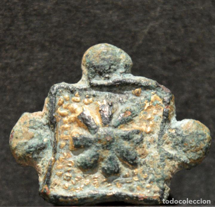 Monedas medievales: ANTIGUO PINJANTE - Foto 2 - 209793410