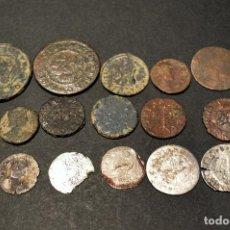 Monedas medievales: LOTE 20 MONEDAS DISTINTAS VARIADO. Lote 210648699