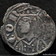 Monedas medievales: DINERO DE ARAGON JAIME II VELLON PLATA. Lote 210695029