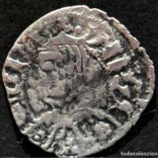 Monedas medievales: DINERO DE ARAGON PEDRO IV VELLON PLATA. Lote 210695275