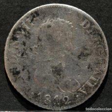 Monedas medievales: 2 REALES 1812 SF CATALUÑA FERNANDO VII PLATA ESPAÑA. Lote 214853476