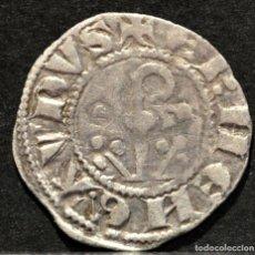 Monedas medievales: DINER ERMENGOL X DINERO VELLON (1267-1314) URGELL AGRAMUNT. Lote 215200032
