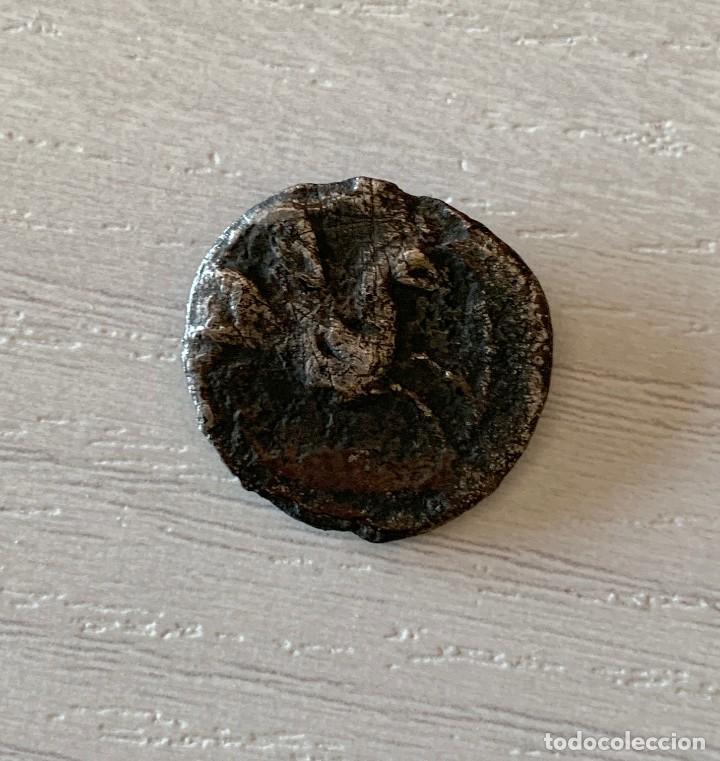 Monedas medievales: MONEDA EMPORITON (EMPURIES GIRONA) DRACMA - MONEDA ANTIGUA DEL SIGLO II A.C. - Foto 2 - 215030952