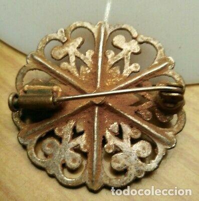 Monedas medievales: BONITO BROCHE MEDIEVAL DE PLATA - Foto 2 - 215965713