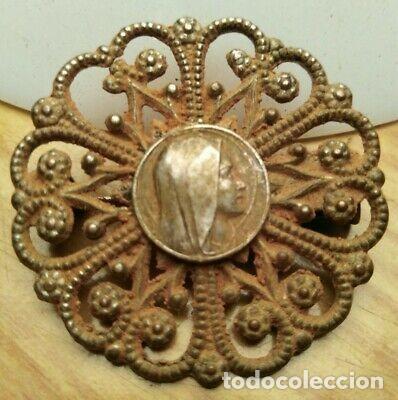 Monedas medievales: BONITO BROCHE MEDIEVAL DE PLATA - Foto 3 - 215965713