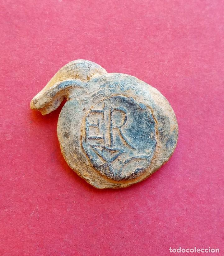 Monedas medievales: Raro Plomo Antiguo de Cervera. Lérida. - Foto 2 - 217422625