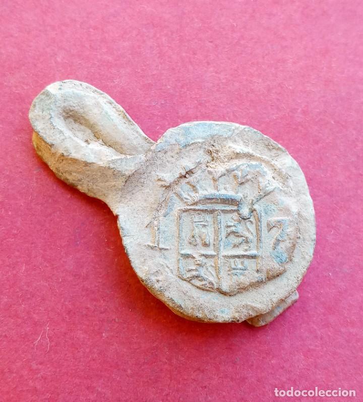 Monedas medievales: Raro Plomo Antiguo de la Junquera. Girona. - Foto 2 - 217422875