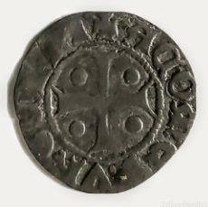 Monedas medievales: CORONA DE ARAGON. COMPTAT D'URGELL. PERE D'ARAGÓ. DINER. (1347 - 1408). Lote 217810798