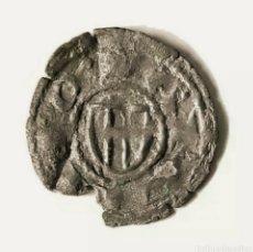 Monedas medievales: CORONA DE ARAGÓN. OBOLO DE DOBLENC BARCELONA. JAIME I. 1213 - 1276. 2 PALOS.. Lote 218049295