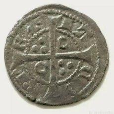 Monedas medievales: CORONA DE ARAGÓN. BARCELONA. DINER. JAIME II. (1291 - 1327). IA EN ANILLO.. Lote 218640053