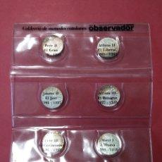 Monedas medievales: COLECCION DE MONEDAS CATALANAS - REYES MEDIEVALES, 1276-1458 - EL OBSERVADOR, .... L2110. Lote 220445000