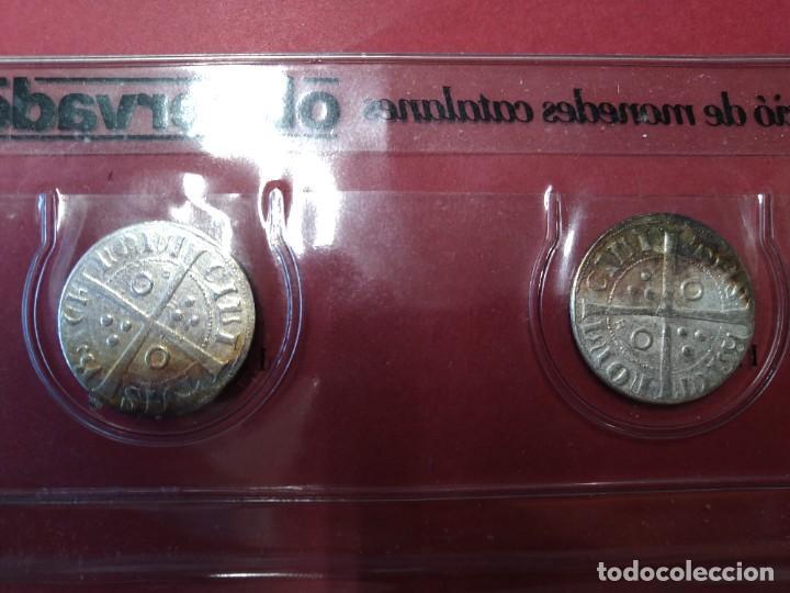 Monedas medievales: COLECCION DE MONEDAS CATALANAS - REYES MEDIEVALES, 1276-1458 - EL OBSERVADOR, .... L2110 - Foto 4 - 220445000