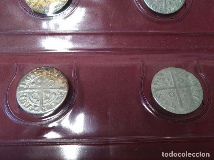Monedas medievales: COLECCION DE MONEDAS CATALANAS - REYES MEDIEVALES, 1276-1458 - EL OBSERVADOR, .... L2110 - Foto 5 - 220445000